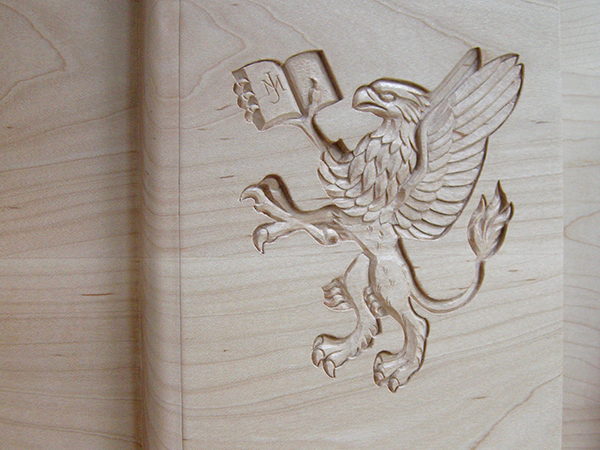 John Murray Press - Heraldic relief carving