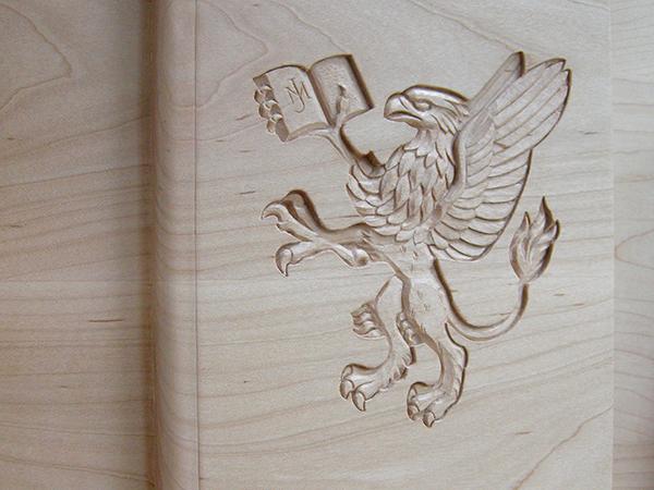 John Murray Press - Heraldic relief carving