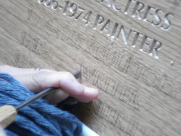 Primrose Hill Studio - Bespoke commemorative plaque