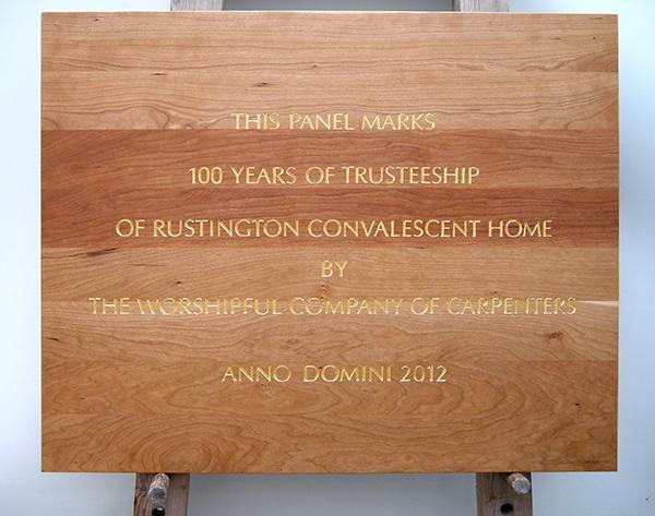 Commemorative Plaque - Rustington Convalescent