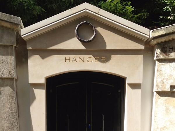 Highgate cemetery gilded letter