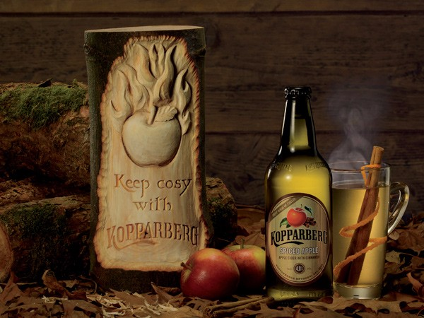Kopparberg Log creations by The Woodcarving Studio