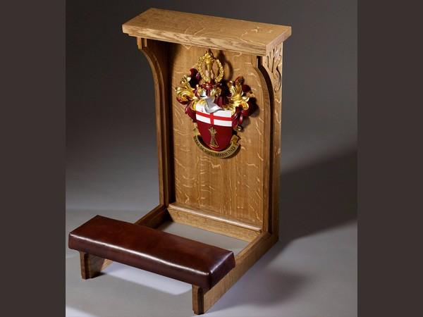 London City University Kneeling Stool by The Woodcarving Studio