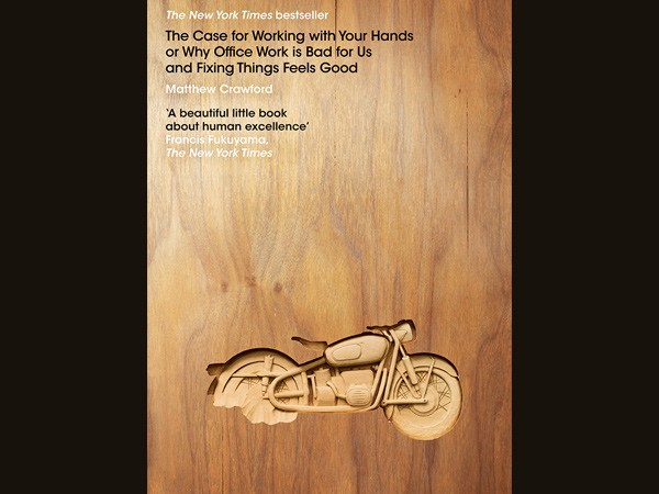 Penguin Book Cover by The Woodcarving Studio