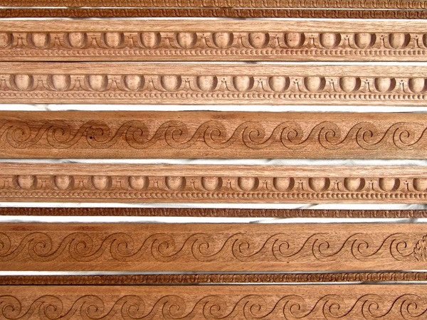 Carved wooden mouldings by The Woodcarving Studio