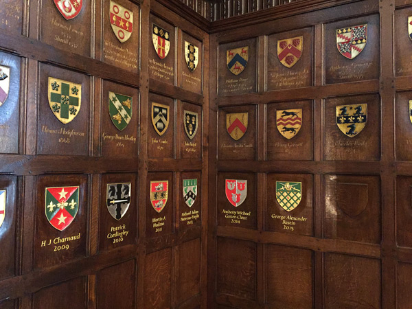 Ironmongers company Coat of Arms by The Woodcarving Studio