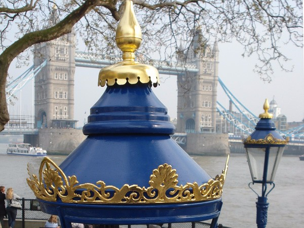 Tower of London gilded lanterns by The Woodcarving Studio