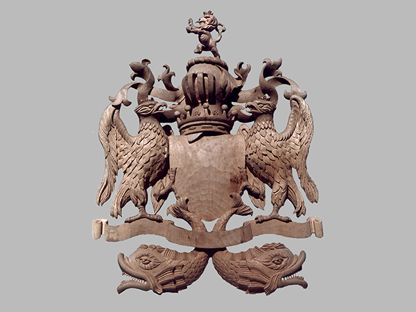 Carved Coat of Arms for the Earl of Clarendon