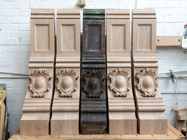 Athlone House Corbels The Woodcarving Studio