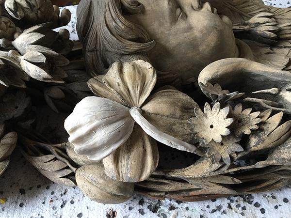 Grinling Gibbons Carving Restoration (wax model)