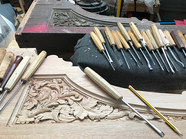 Architectural corbels - Reproduction of architectural carving