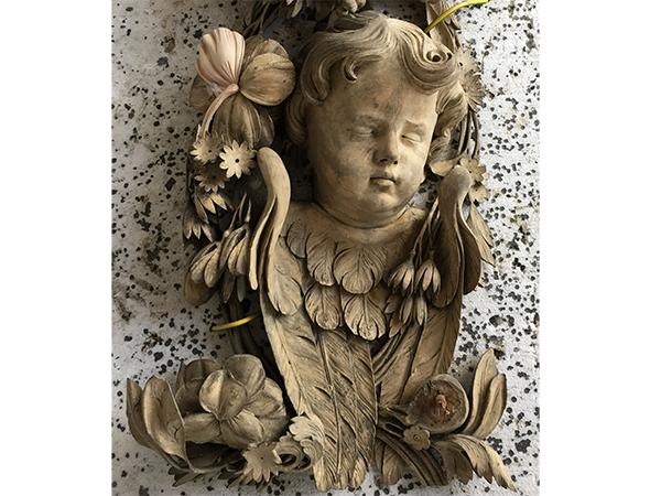 Grinling Gibbons Carving Restoration