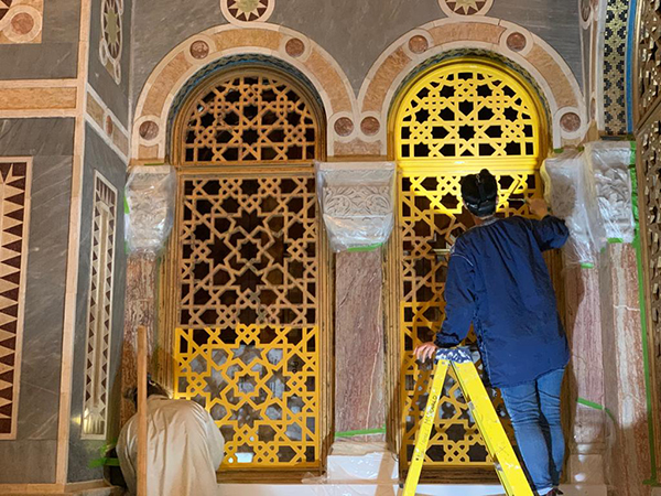 West London Synagogue - Oil gilding specialists