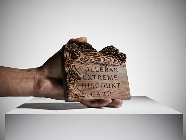 Contemporary craft - Intricate wood carving for Vollebak advertising campaign