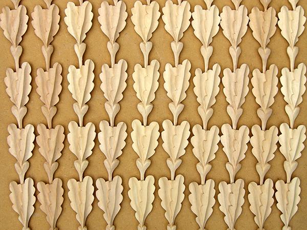 Carved decorative mouldings