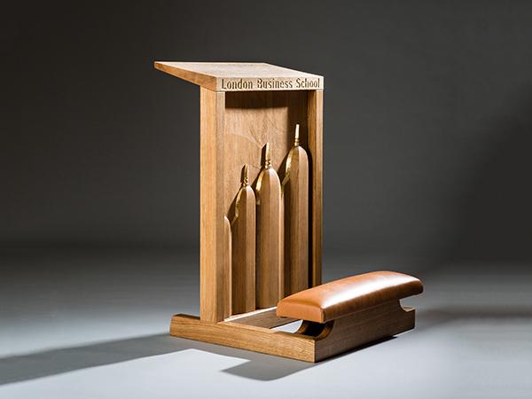 Ceremonial Kneeling Stool - Bespoke furniture wood carving