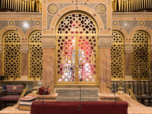 West London Synagogue -  Professional Gilding Services
