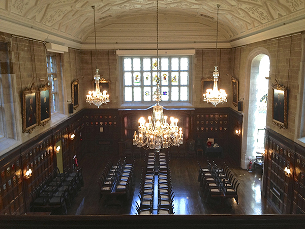Banqueting Hall at The Ironmongers' Hall